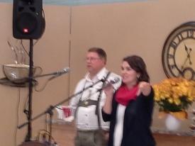 10/26/14 -  Community in Christ Oktoberfest  Reception